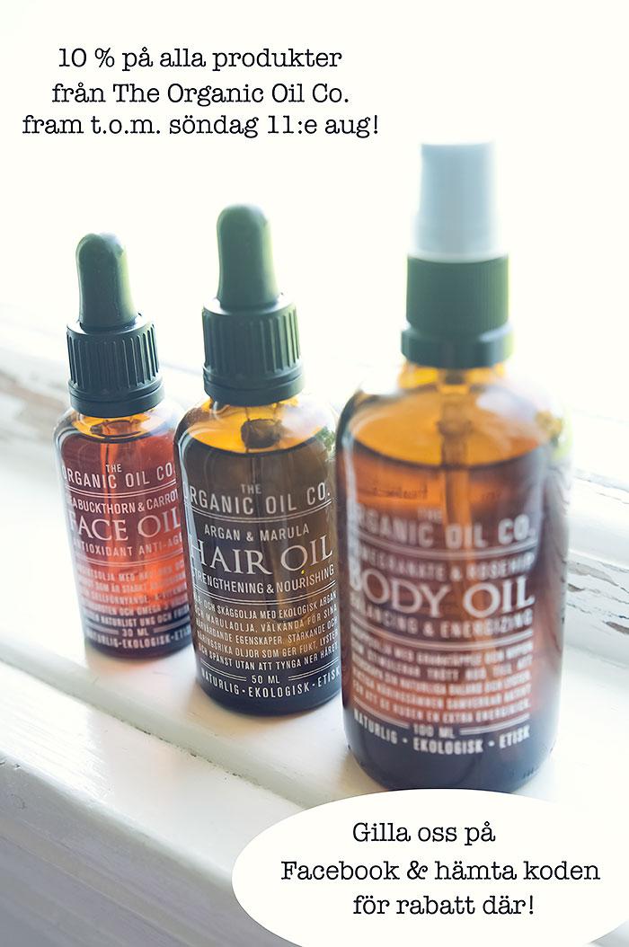 The Organic Oil Co. - ekologiska oljor