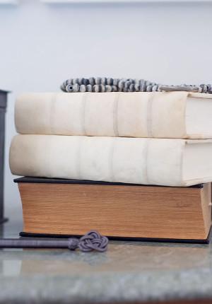 Notebook, läder & canvas