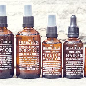 Hud-, hårvård och spaprodukter