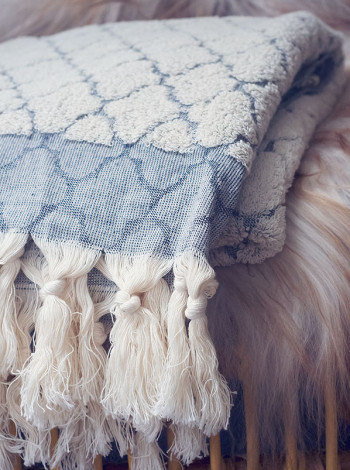 Ekologisk handduk, tile