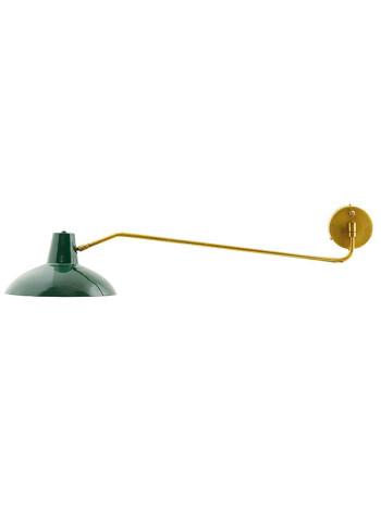 Vägglampa, Lampa Desk, Grön, House Doctor